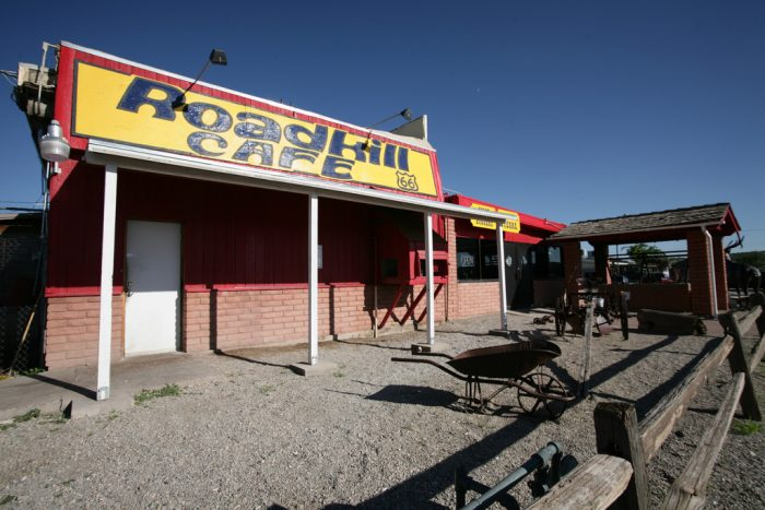 5. The Roadkill Cafe in Seligman.
