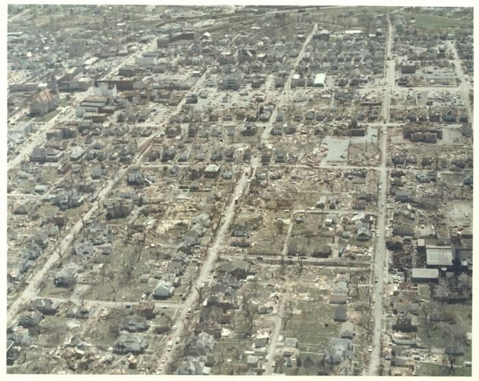 The 1974 Super Outbreak In Xenia Ohio