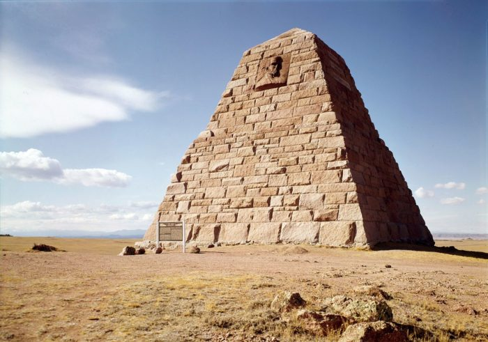 9. Wyoming is home to a pyramid.