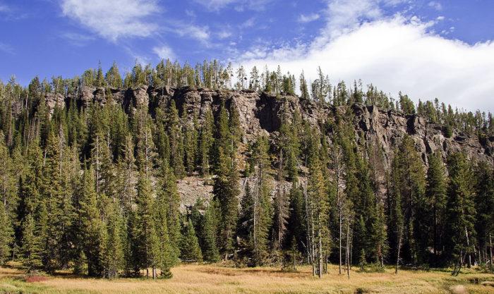 9. Obsidian Cliff
