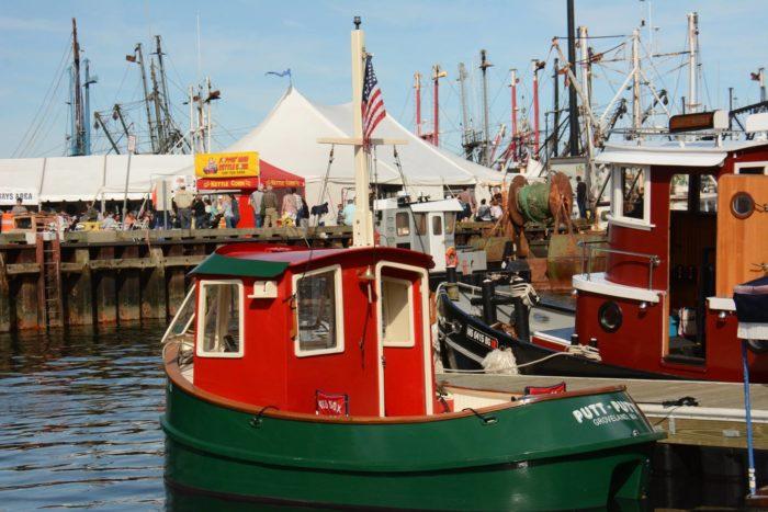8. New Bedford Seaport Chowder Festival: September 23