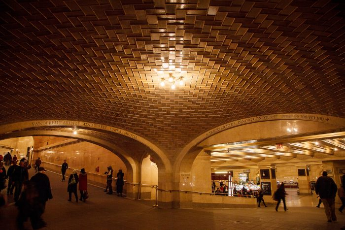 5. Grand Central Station's Whispering Arch
