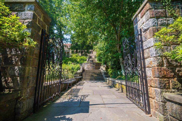 Winterthur staircase Delaware