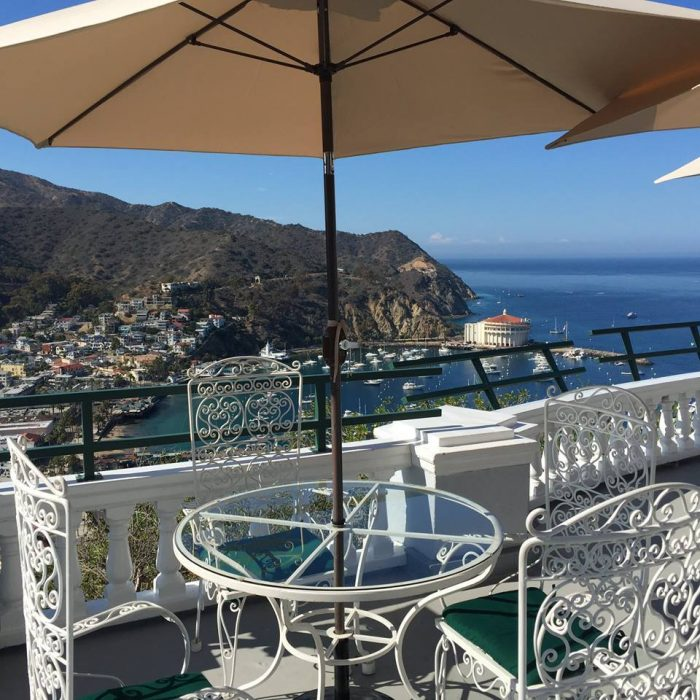 19. Outdoor dining with epic views like this gem in Avalon.