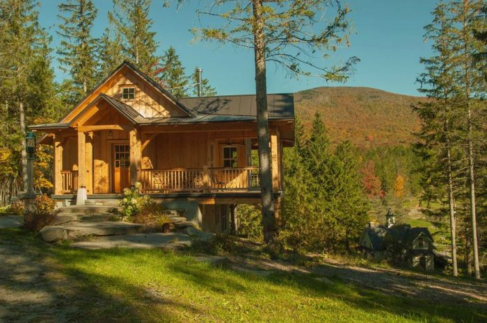 14 Great Cabins For Camping In Vermont