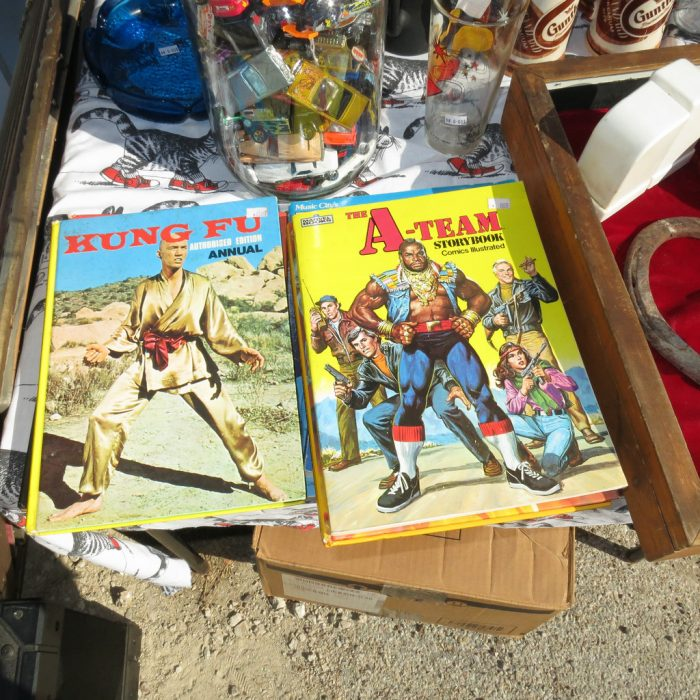 2. Grab some small change and see what you can get with it all at any of the Austin flea markets, that typically are open during the weekends.