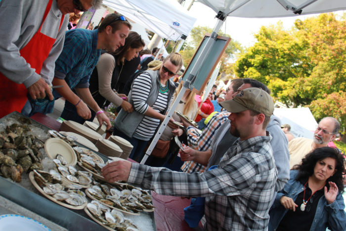 1. Wellfleet OysterFest:  Saturday and Sunday, October 15 and 16