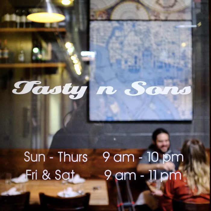 14. Tasty n Sons, Portland