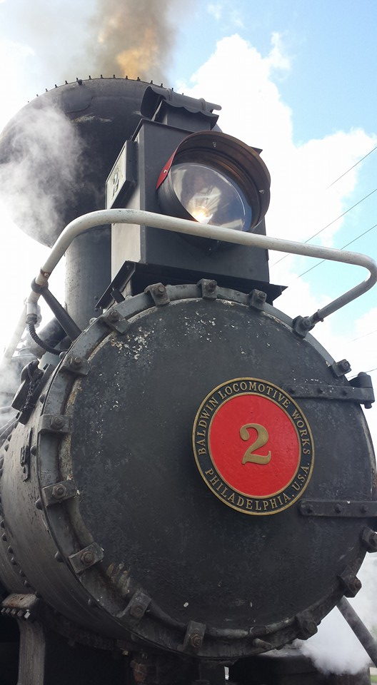 """Since starring alongside Robert Redford, Natalie Wood, and Charles Bronson in the 1964 film """"This Property is Condemned,"""" this authentic 1907 wood-fired steam engine has been in more than 20 films and TV shows, alongside some of Hollywood's biggest stars."""
