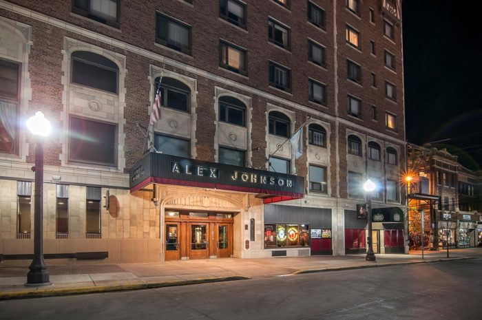 8. Stay the night at the Hotel Alex Johnson and decide for yourself if it's haunted.
