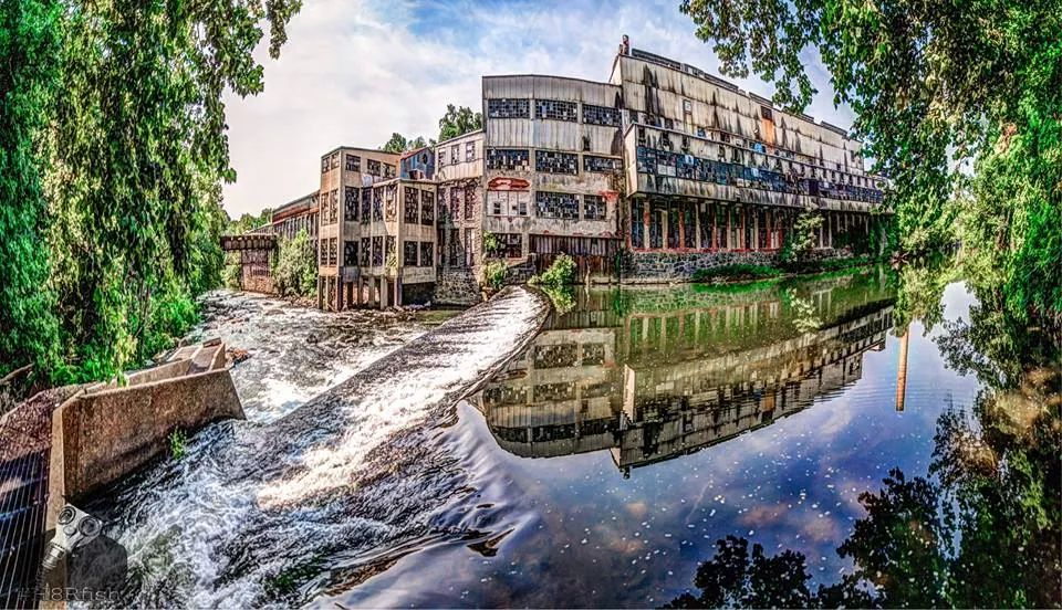 Delaware S Abandoned Bancroft Mills Is Hauntingly Beautiful