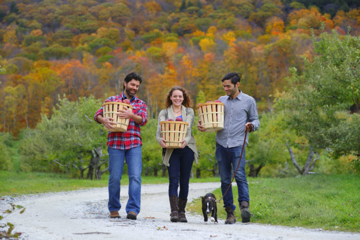 4. And apple-picking. Apple-picking out in western Mass. is the absolute best fall activity.