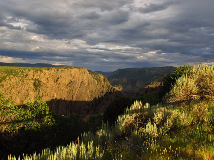 4. Black Canyon of the Gunnison National Park (Montrose)