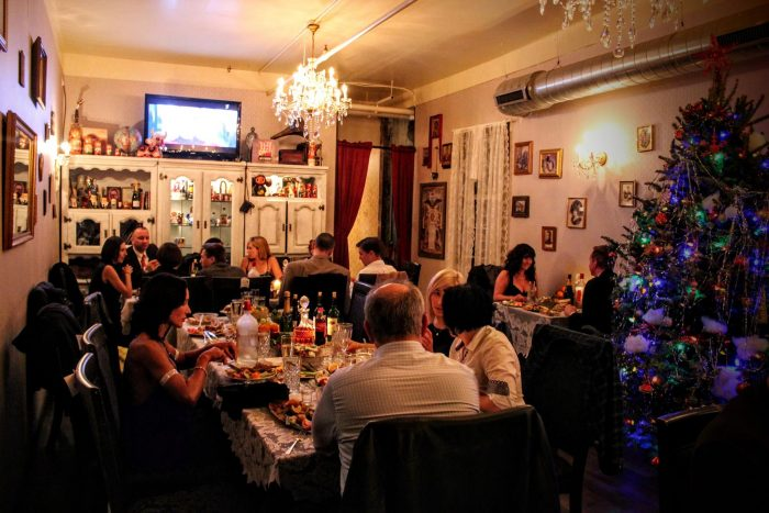 2. Russian House may be the only restaurant in Austin that serves authentic Russian cuisine, paired with the vibes of dining in an actual Russian household.