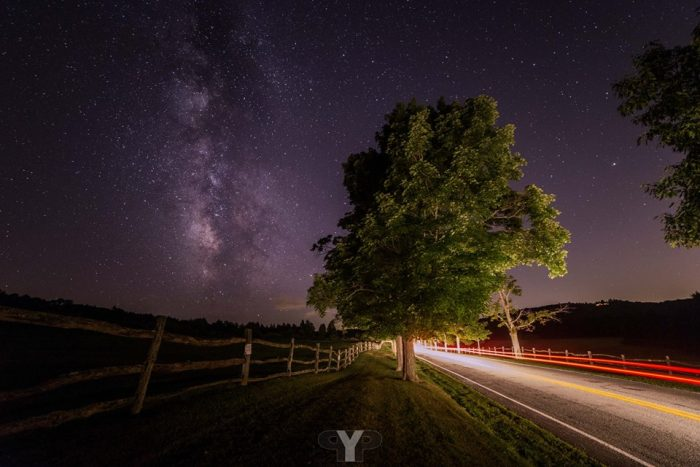 4. Patrick Yusko Photography captured this captivating photo of the night sky in Rector.