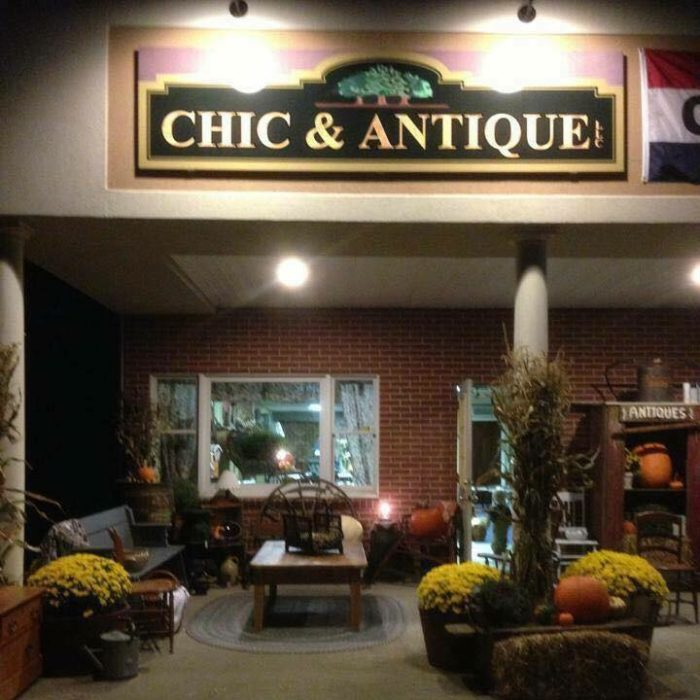 1. Chic & Antique (West Suffield)