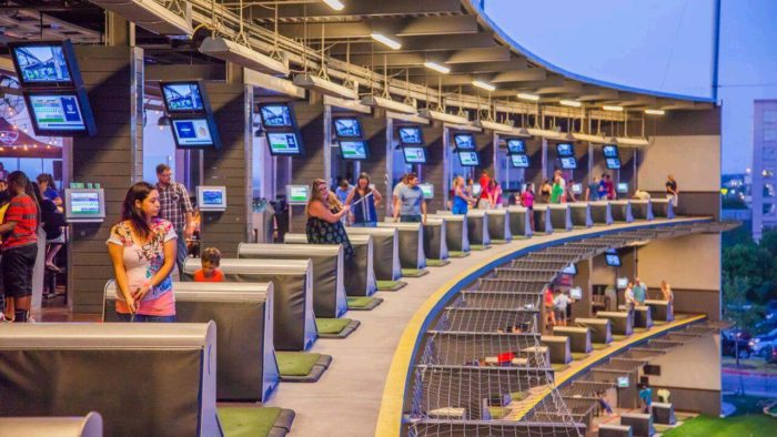 7. Even the most laid back spots in Austin are romantic if you take your love with you. Top Golf Austin has everything you need...food, drinks, and golf to top it all off!