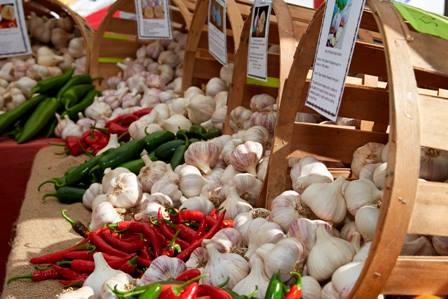 10.  Southern Vermont Garlic & Herb Festival - September 3rd and 4th, Bennington