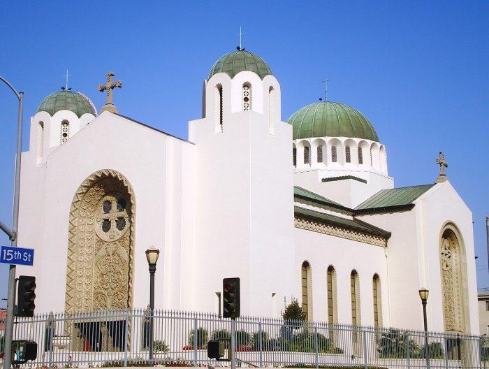 5. Saint Sophia Cathedral in Los Angeles