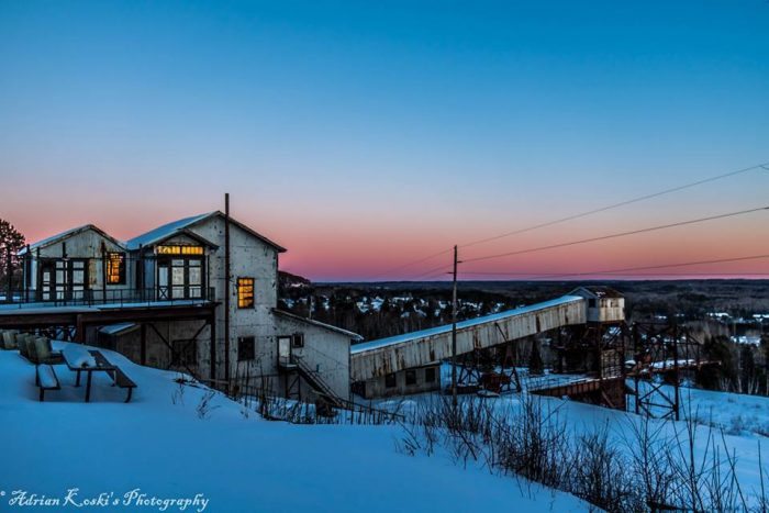 1. Soudan Underground Mine State Park is full of fascinating history and amazing sunset viewing spots like this one.