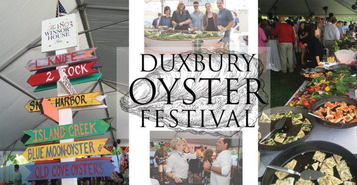 5. Duxbury Oyster Festival: Sunday, May 15 ($100 admission)