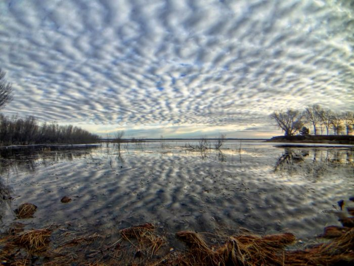 1. These CLOUDS. Calamus Reservoir is always beautiful, but wow - this is like something out of a dream.