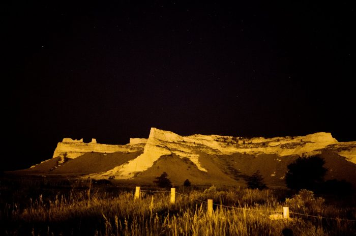 15. The north side of Scott's Bluff looks almost foreboding in this light...but it's always an incredible sight.