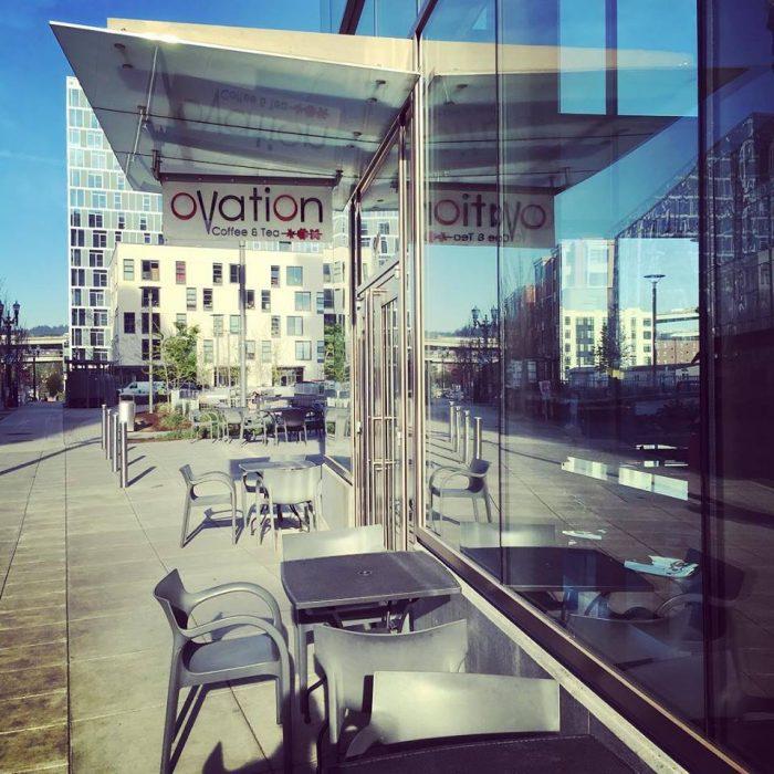 10. Ovation Coffee & Tea - NW Portland