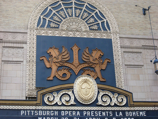 13. Pittsburgh is home to the world's fifth largest opera company. The Pittsburgh Opera debuted in 1939.