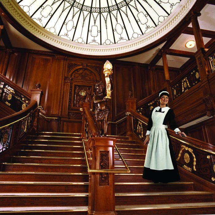 13. Titanic's Grand Staircase