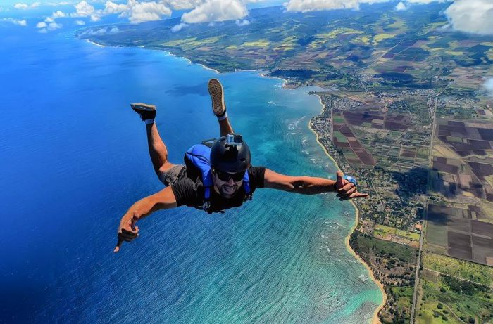 13. Adrenaline junkies should head to Pacific Skydive Hawaii for an unforgettable experience.