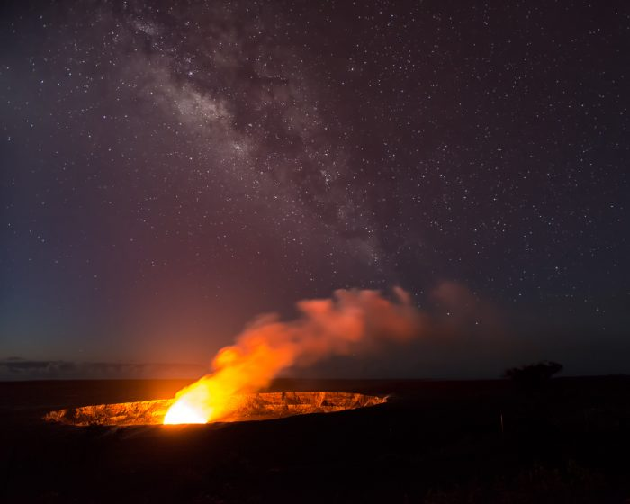 13. Get up close and personal with volcanoes at Hawaii Volcanoes National Park.