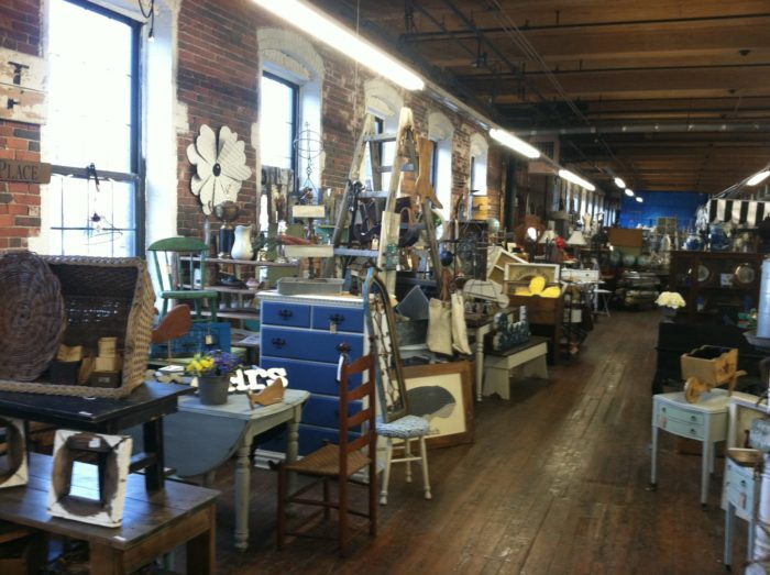 5. Canal Street Antique Mall, Lawrence