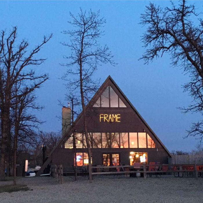 2. A Frame Bar & Grill - Bottineau