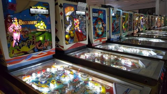 5. Spend the day playing pinball.