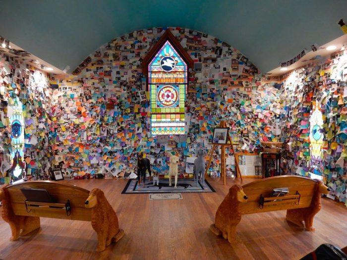 10.  Dog Chapel, St. Johnsbury