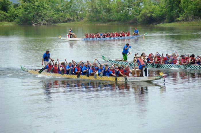 1. River Cities Dragon Boat Festival (Maumelle)