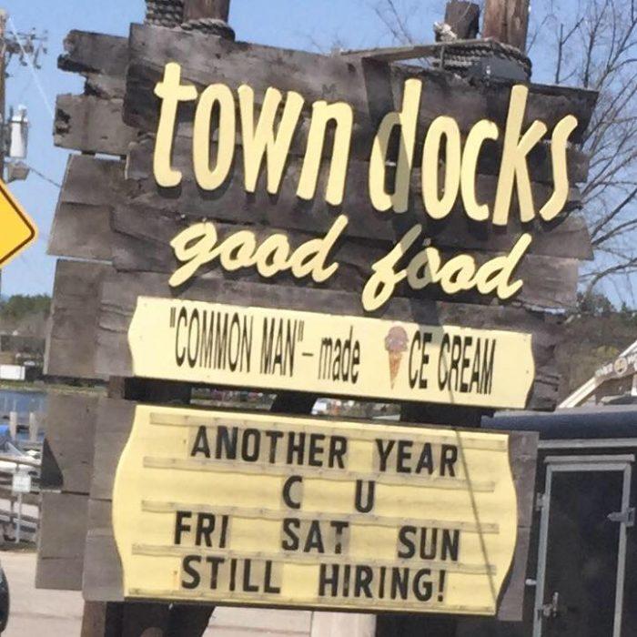 8. Town Docks, Meredith