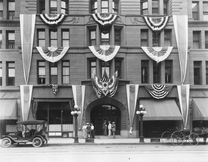 The Brown Palace Hotel...