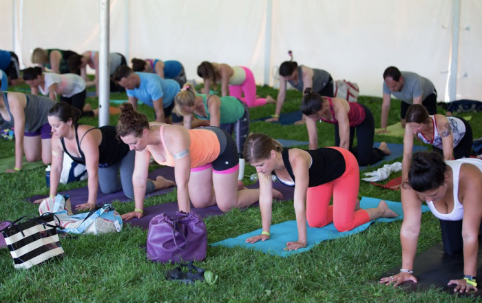 14. Finally start a yoga and mindfulness practice at the Maine Yoga Festival in Portland (July 8-10th).