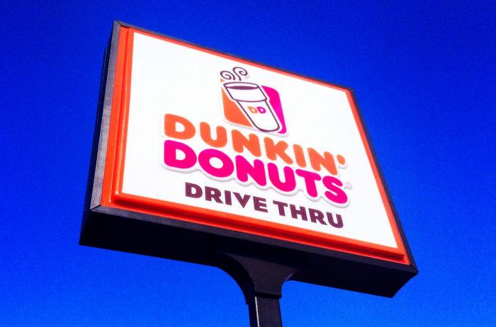 3. Dunkin' Donuts