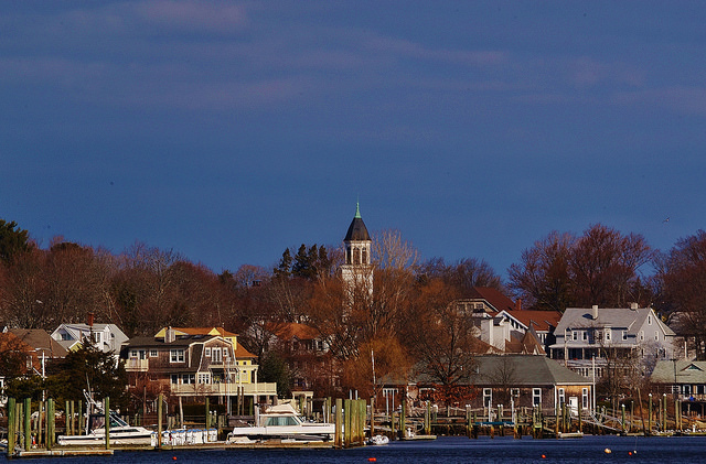 4. Pawtuxet Village, Warwick and Cranston