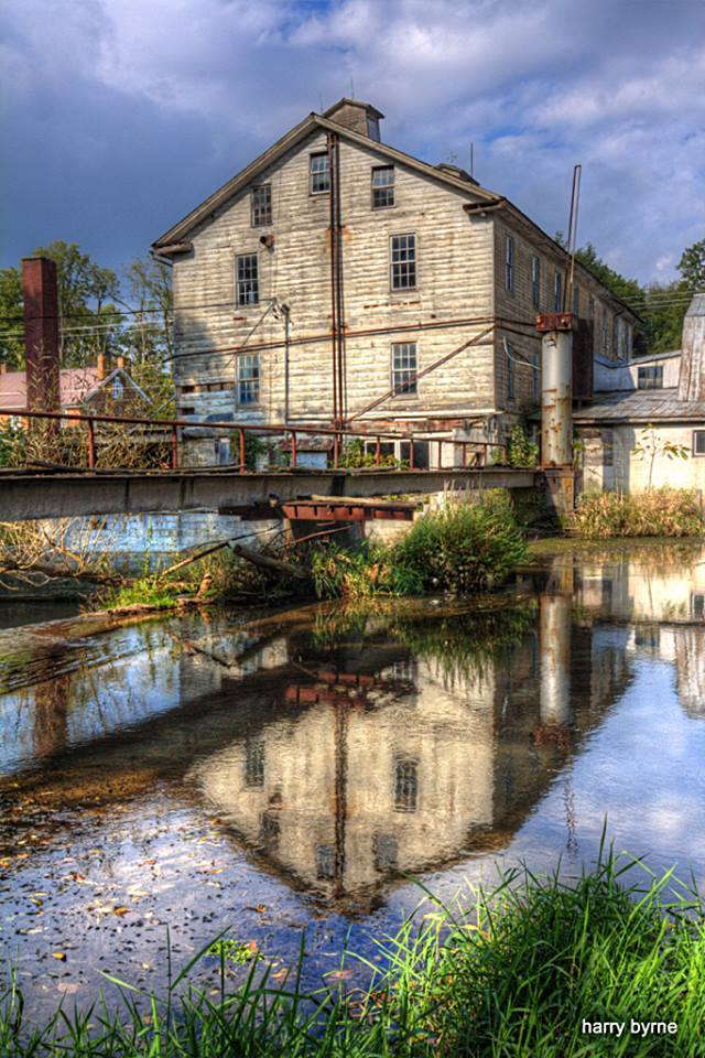 1. This serene photo of Woolen Mill in Woodbury was taken by Harry Byrne.