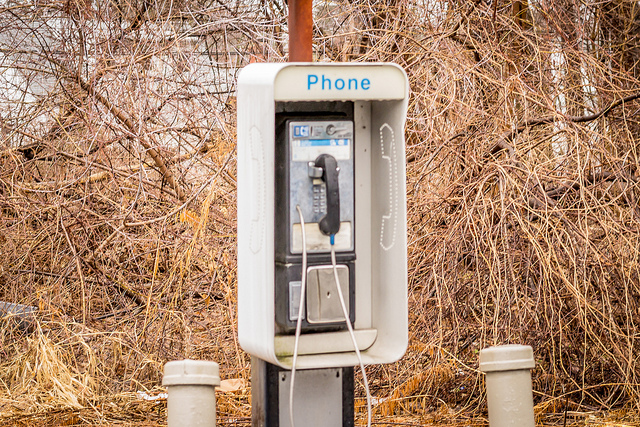 6. We walked out of our way to use payphones. Because the idea of having a phone in your pocket was absurd.