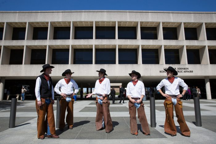 3. Cowboys? We got 'em all right here in Austin - Take your pick!