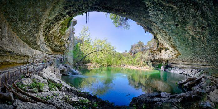1. Hamilton Pool (Dripping Springs)