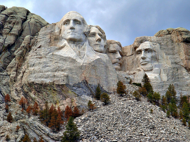 9. When people aren't sure if Mount Rushmore is in South Dakota or North Dakota.