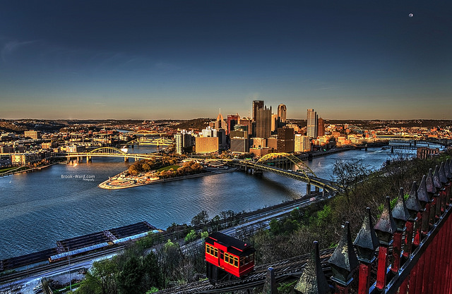 10. The Duquesne Incline in Pittsburgh