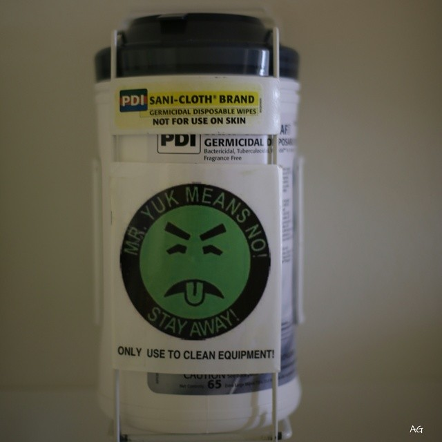 14. The Poison Center at Children's Hospital of Pittsburgh created the first Mr. Yuk stickers in 1971.