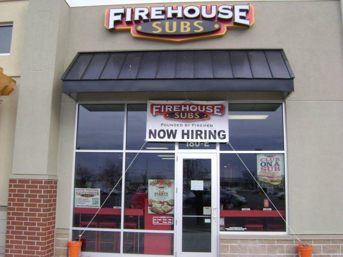 6. Firehouse Subs, Cedar Rapids